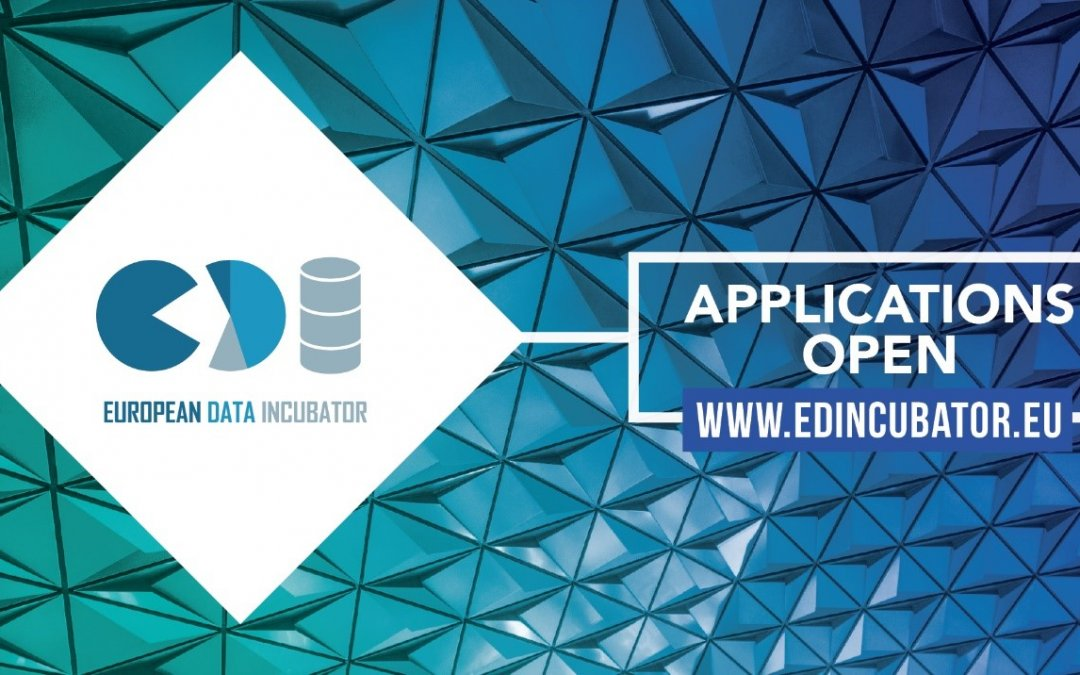 €5 Million Fund for Big Data Startups and SMEs– European Data Incubator is Open for Applications