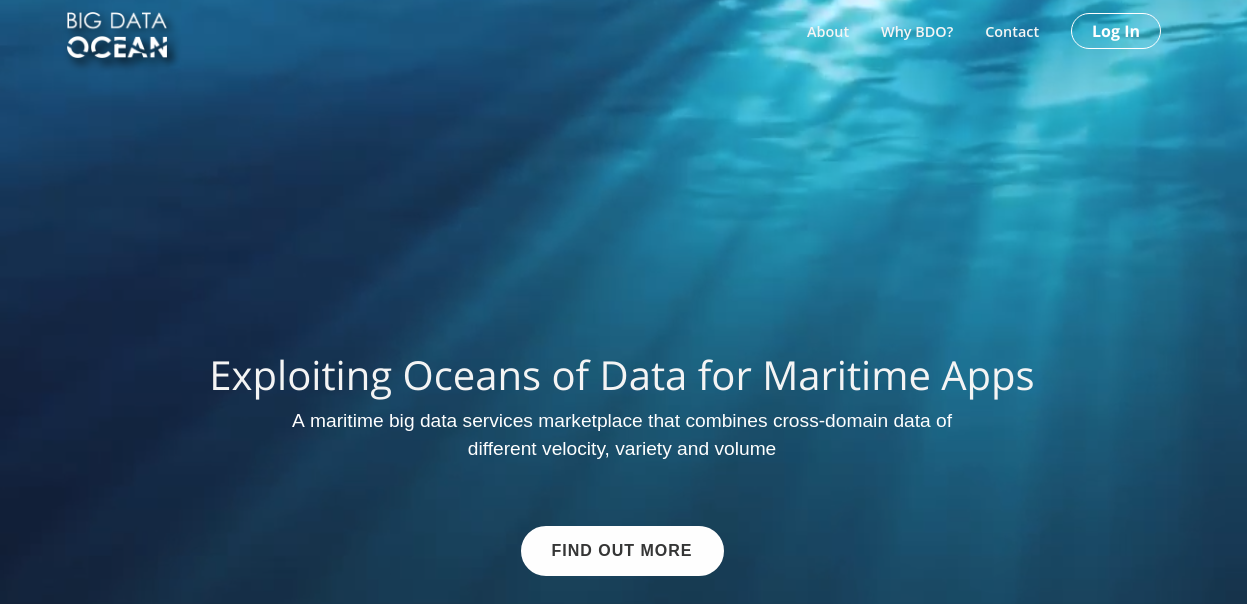 BigDataOcean platform v3 00 released for user evaluation
